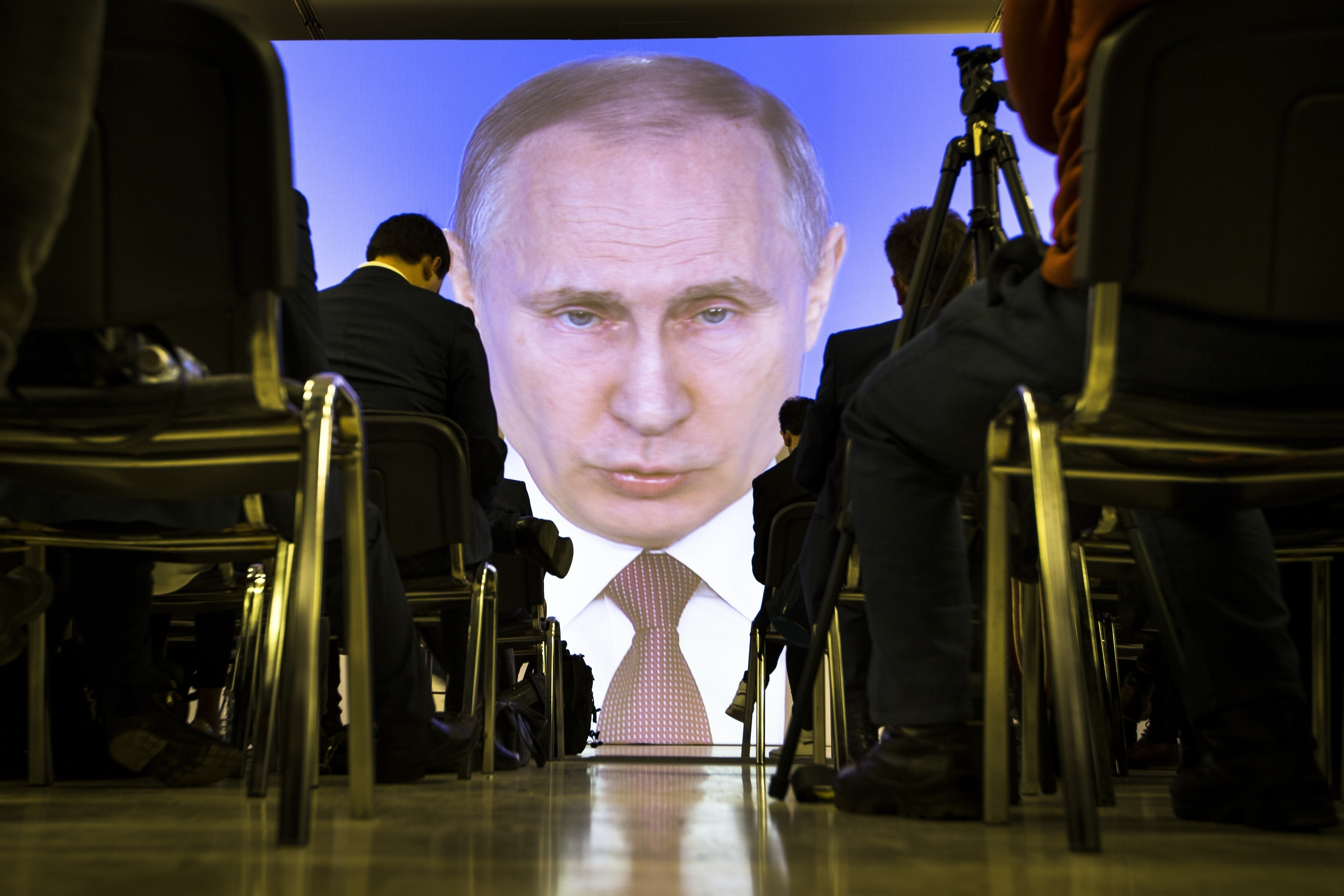 Image for Putin's Speech