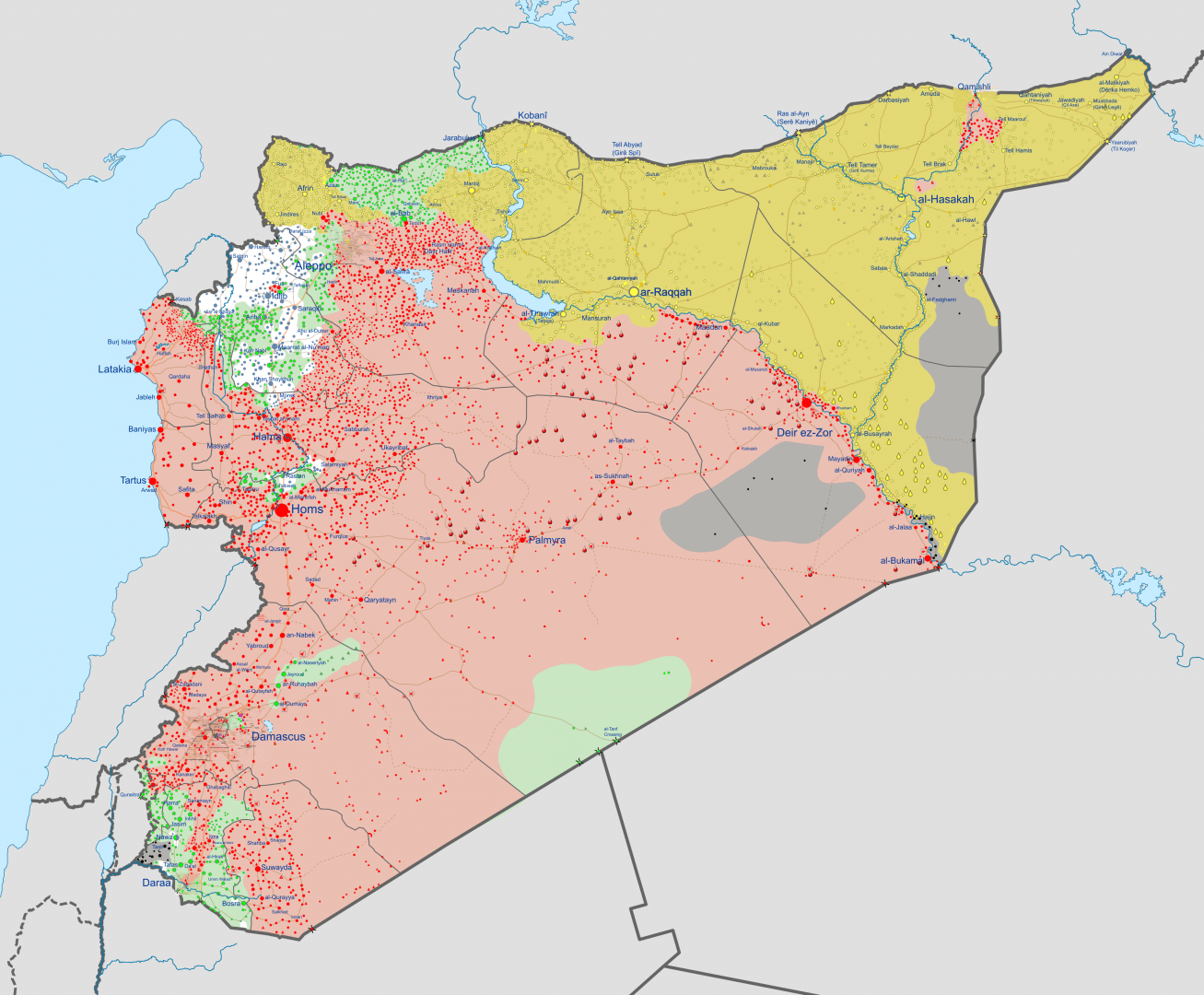 Image for Syria is Getting Hotter
