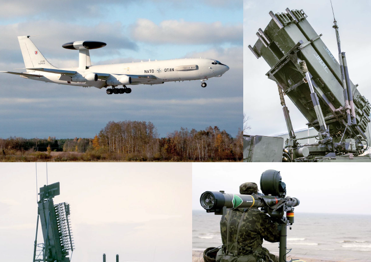 Image for Air Defence of the Baltic States