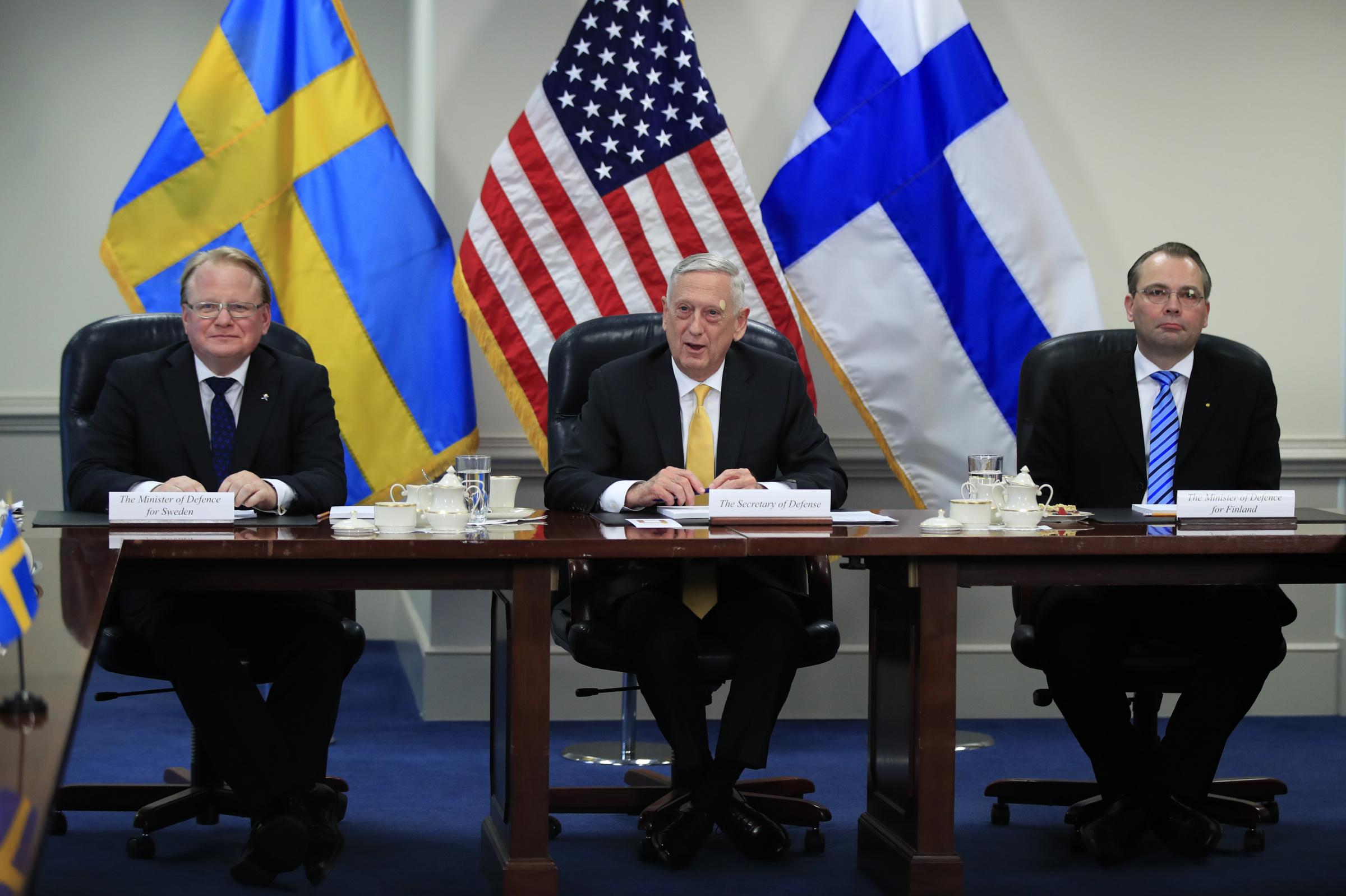 Image for США, Финляндия и Швеция: Трехстороннее заявление о намерениях в сфере оборонных интересов