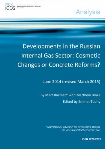Image for Venemaa maagaasi siseturu areng: kosmeetilised muutused või konkreetsed reformid?