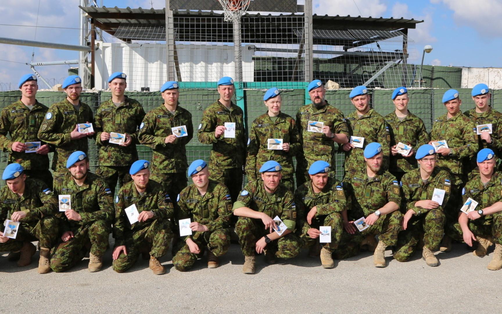 Image for Eesti lõpetab osaluse UNIFILis