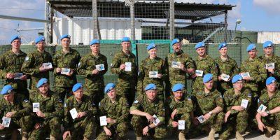 Image for Эстония заканчивает свое участие в UNIFIL