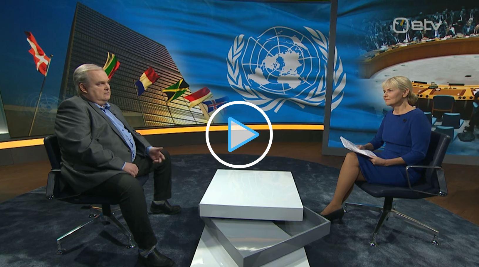 Image for Bahovski sõnul võib valitsuse otsustamatus ka ÜRO julgeolekunõukogus probleeme tuua
