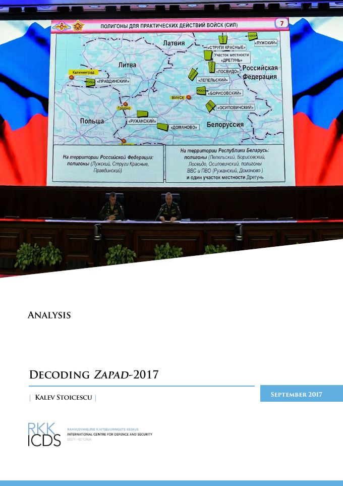 Image for Decoding Zapad-2017