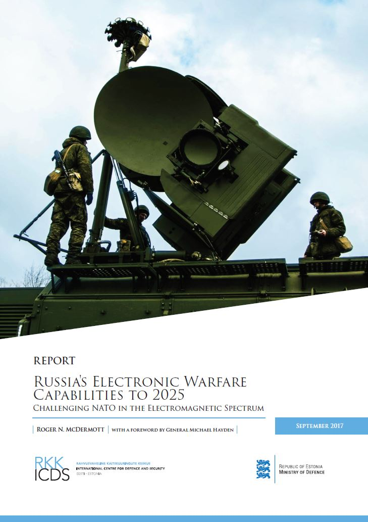 Image for Russia's Electronic Warfare Capabilities to 2025: Challenging NATO in the Electromagnetic Spectrum