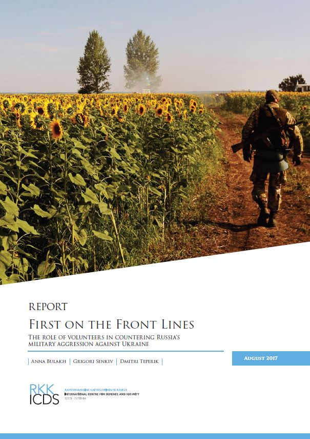 Image for First on the Front Lines – the Role of Volunteers in Countering Russia's Military Aggression against Ukraine
