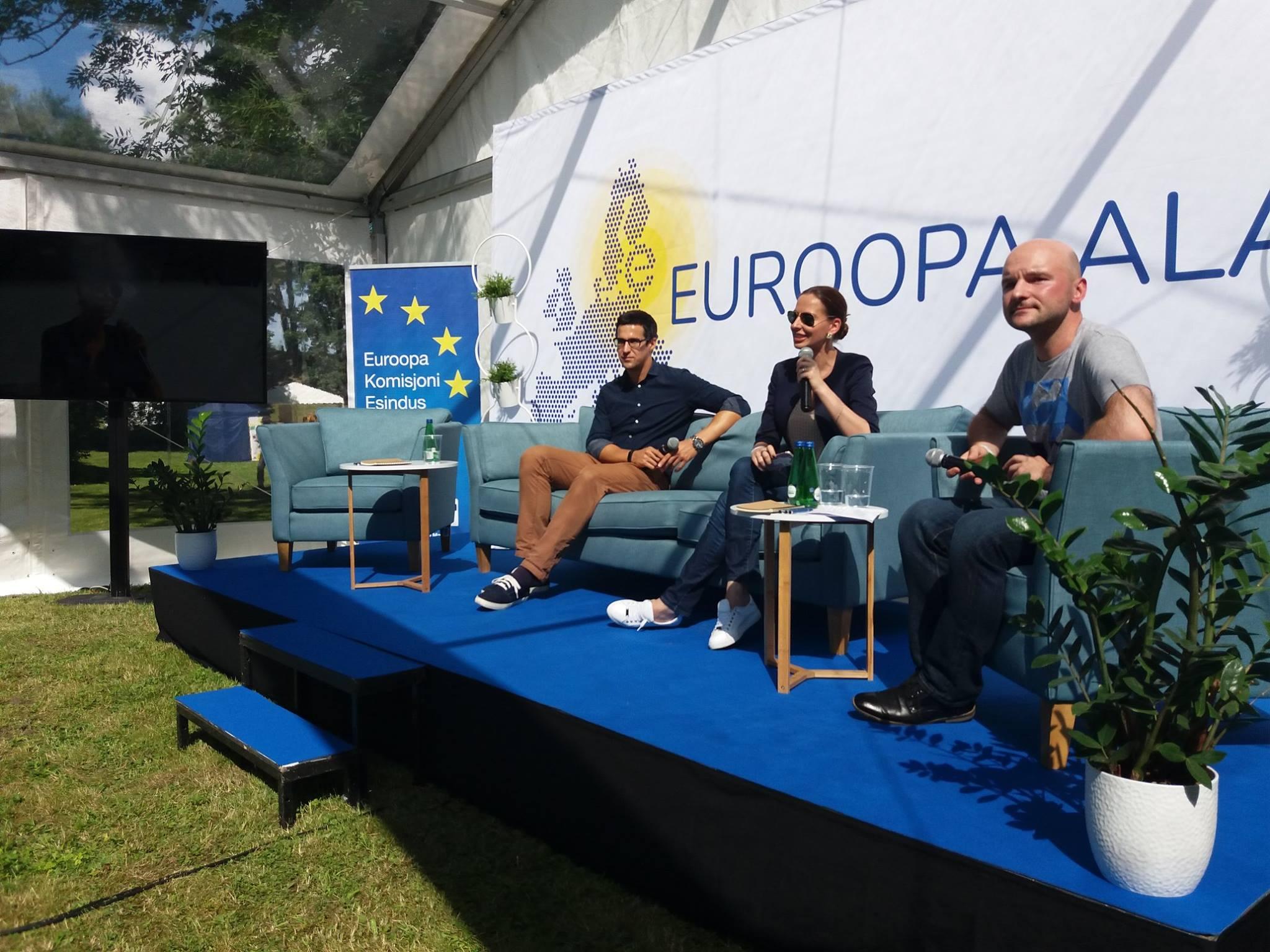 Image for RKK korraldas Arvamusfestivalil 2017 arutelu Ida-Ukraina olukorra teemal
