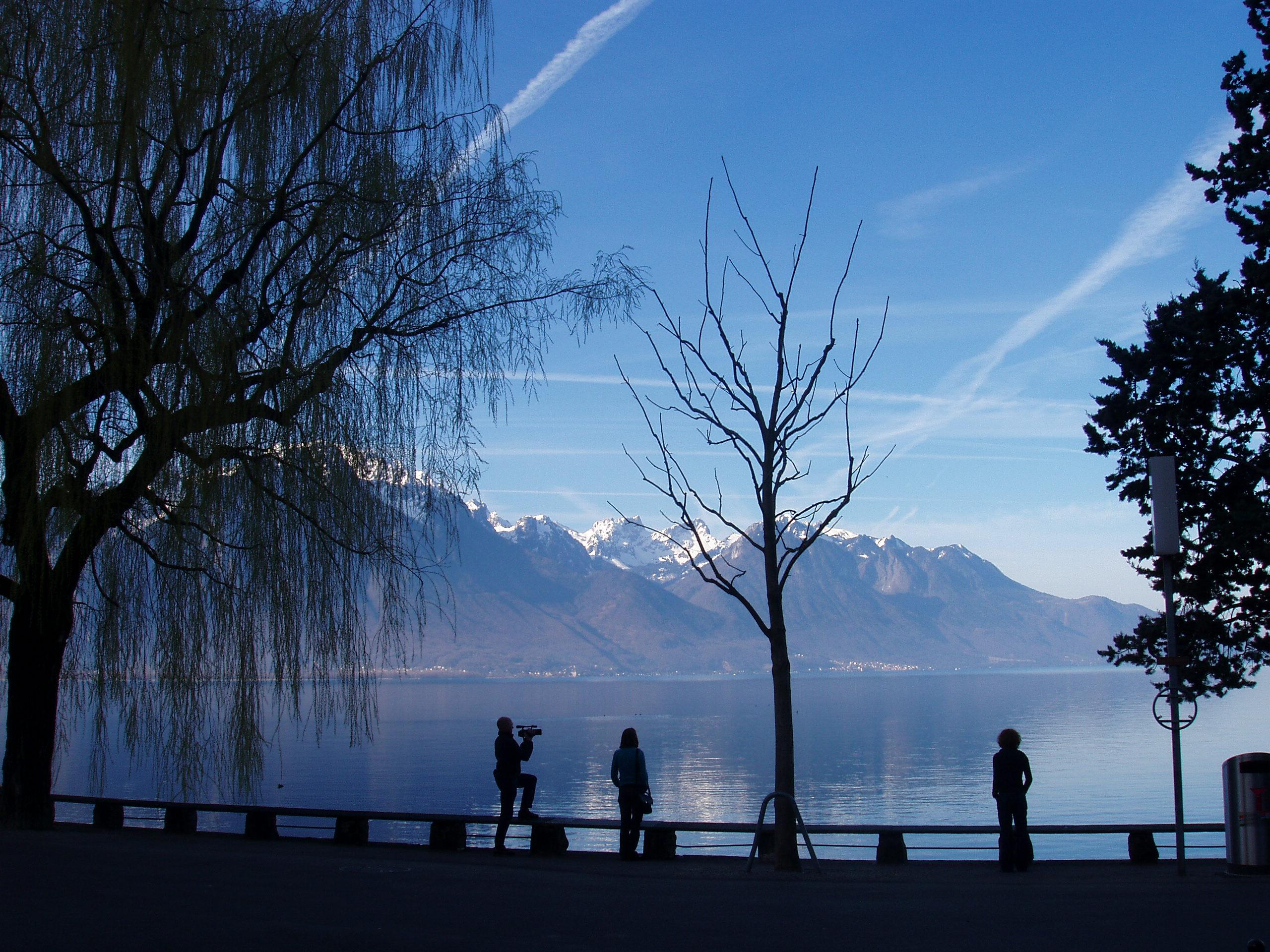 Image for Представьте Рекса Тиллерсона и Ри Ён Хо, прогуливающихся по берегам Женевского озера?