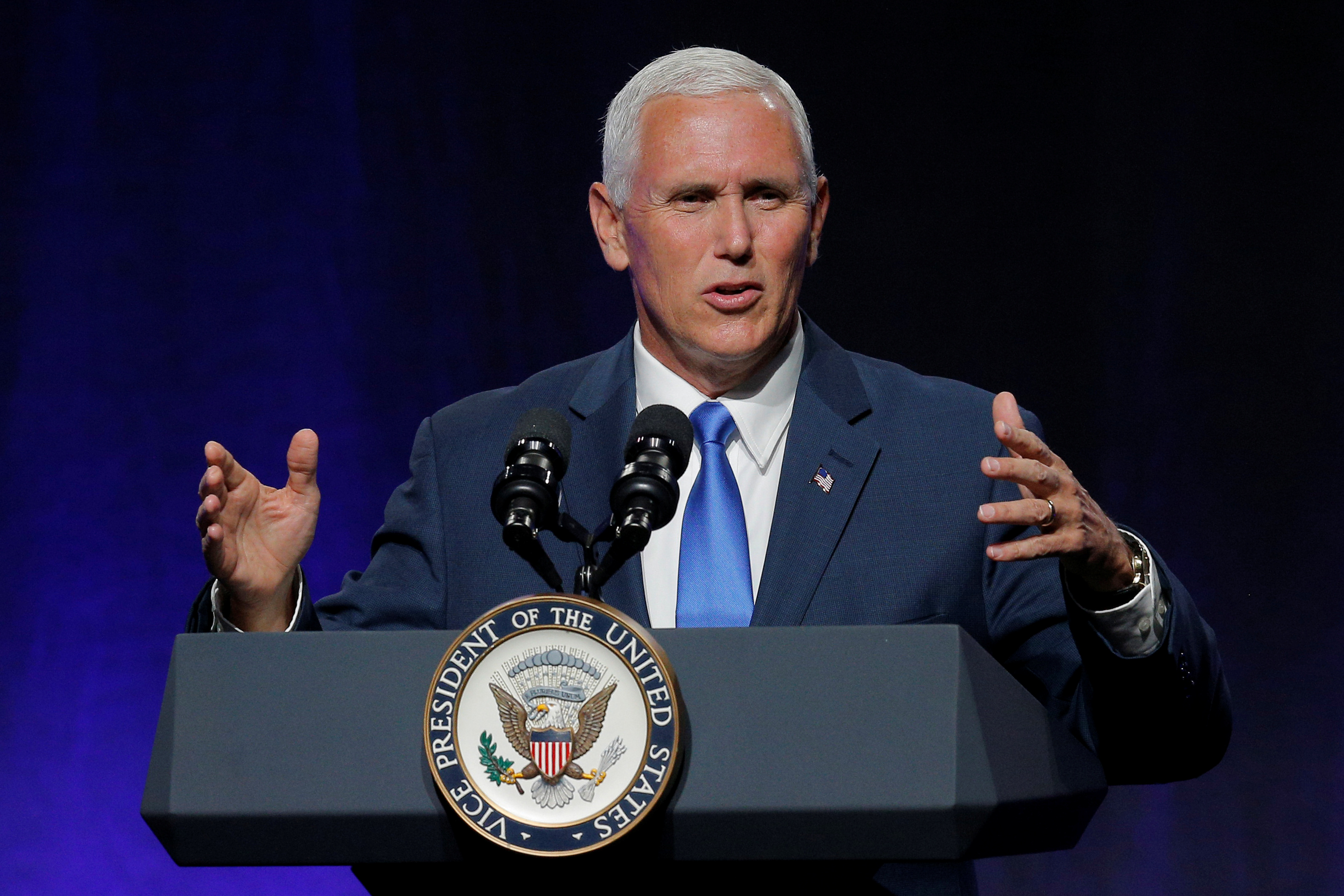 Image for USA asepresidendi Mike Pence'i peatne visiit Eestisse