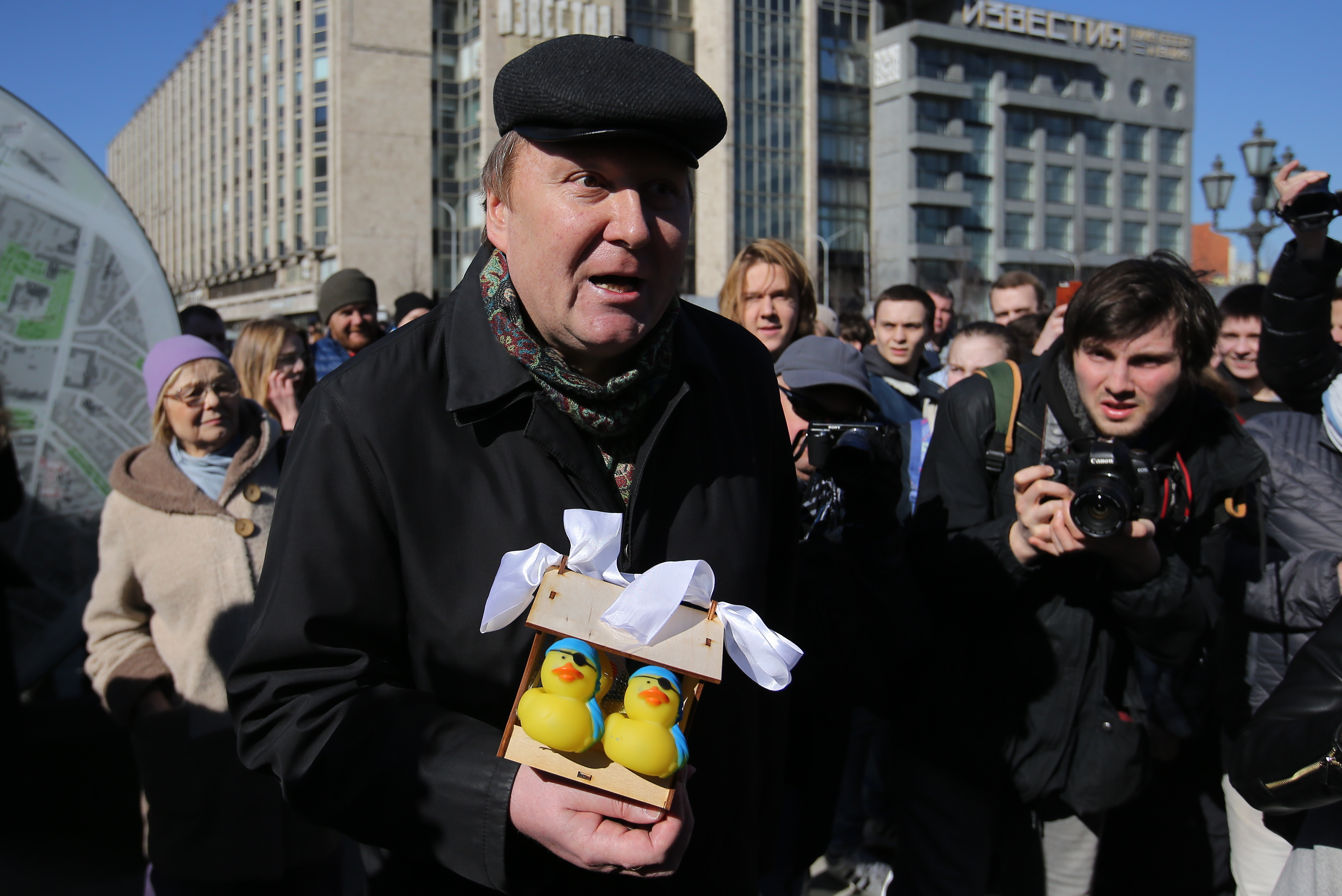 Image for Fresh Protests Are Sign of Change of Dynamics in Russian Politics