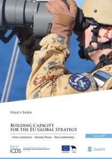 Image for Building Capacity for the EU Global Strategy