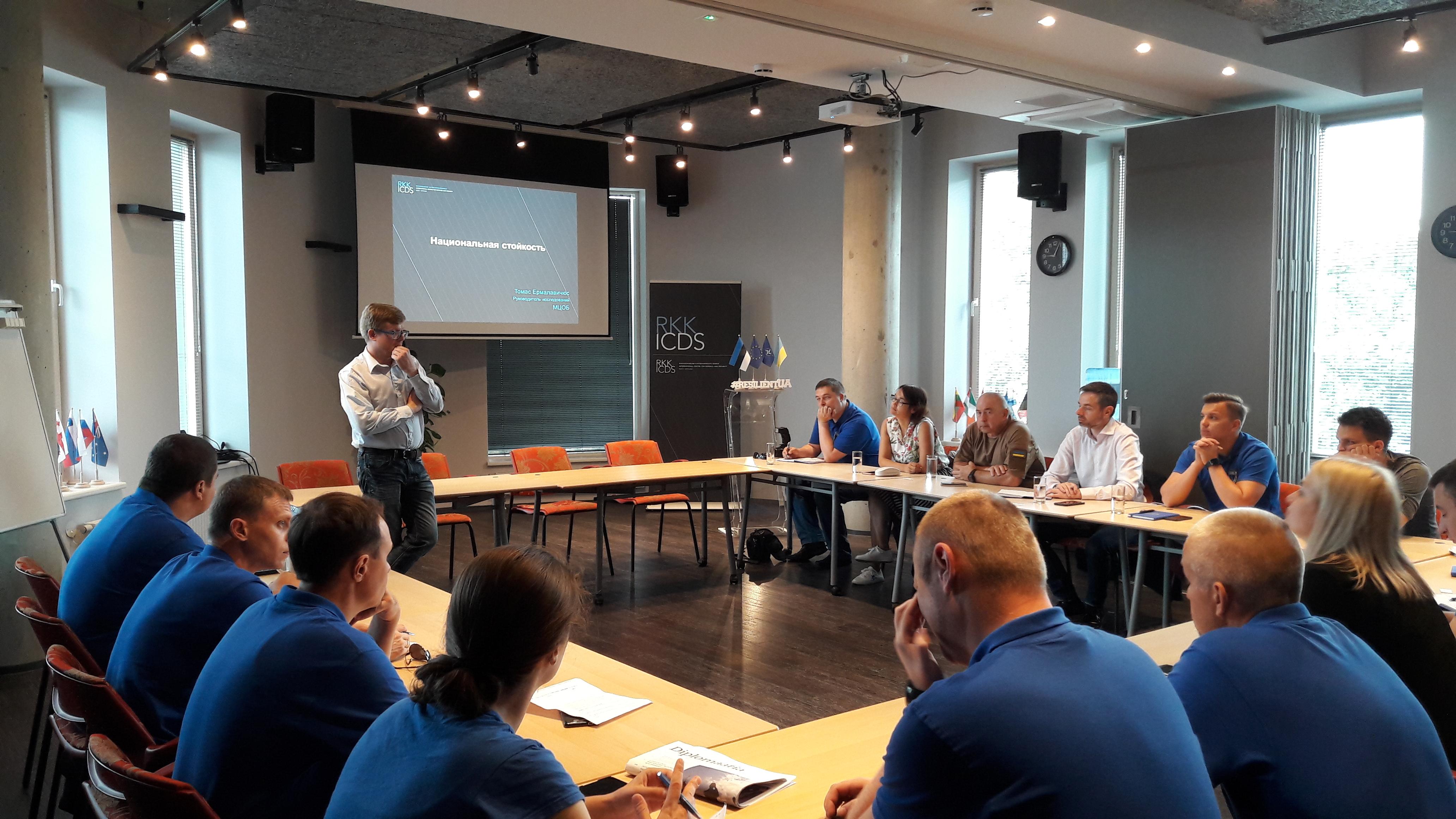 Image for Ukraina sisejulgeoleku ekspertide õppereis Eestisse