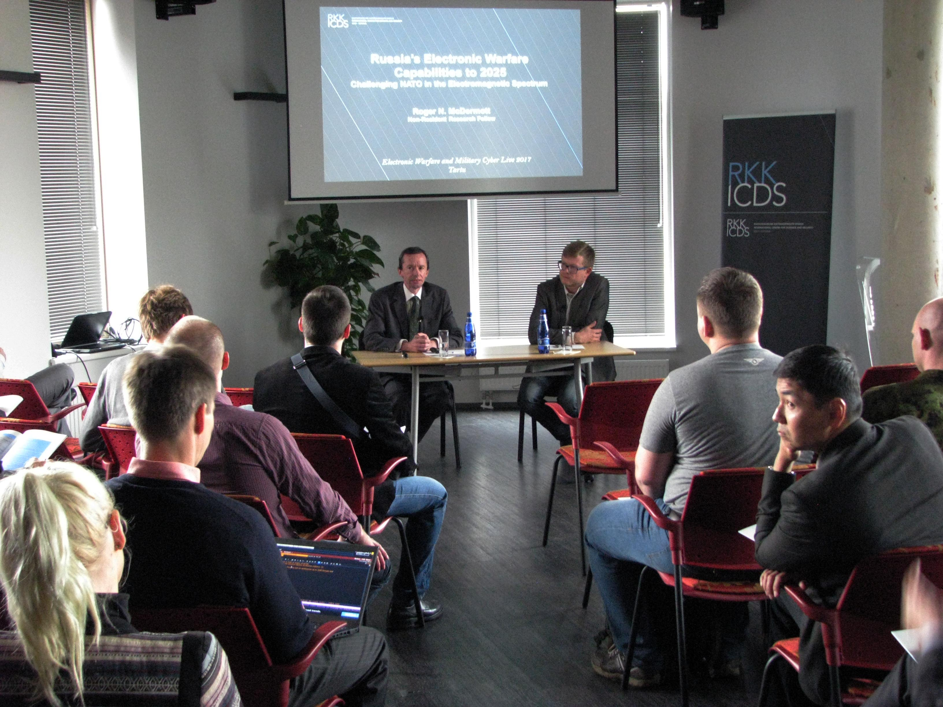 Image for ICDS Report Launch Event in Tallinn