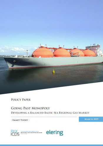 Image for Going Past Monopoly: Developing a Balanced Baltic Sea Regional Gas Market
