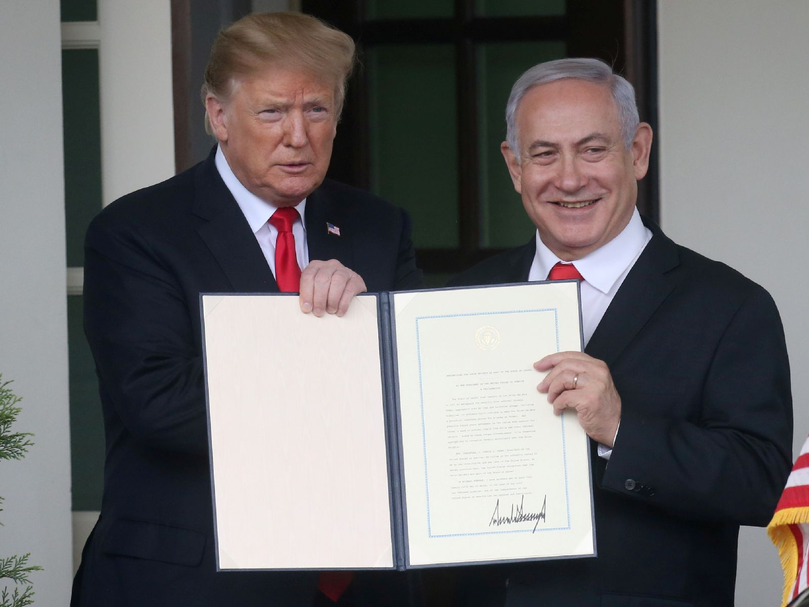 Image for US Recognition of the Golan Heights as Israeli Territory