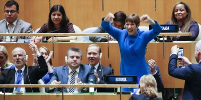 Image for Going Global: Estonia Becomes a Member of the UN Security Council
