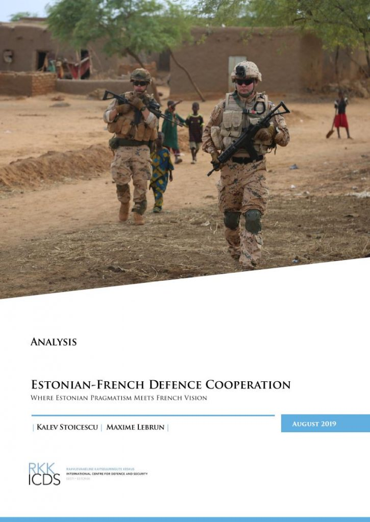 Image for Estonian-French Defence Cooperation – Where Estonian Pragmatism Meets French Vision