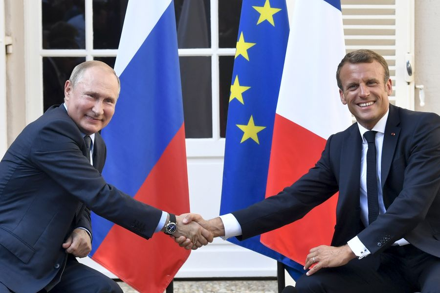 Image for Illusions about EU–Russia relations: Macron's new opening is destined to fail
