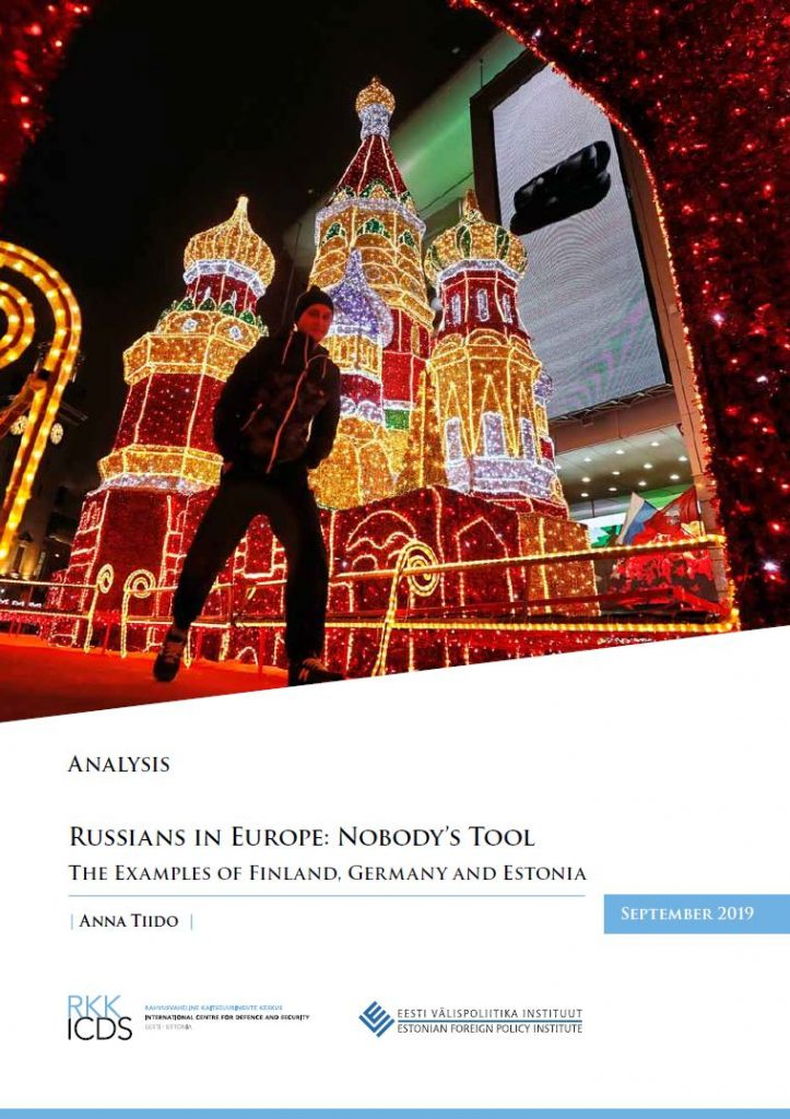 Image for Russians in Europe: Nobody's Tool – The Examples of Finland, Germany and Estonia