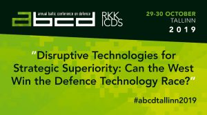Image for Ведущие эксперты по новым технологиям выступят на ежегодной Балтийской конференции по обороне в Таллинне