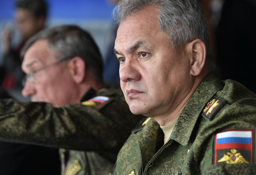 "Image for Defence Minister Shoigu Sells Russia's Military ""Success Story"""