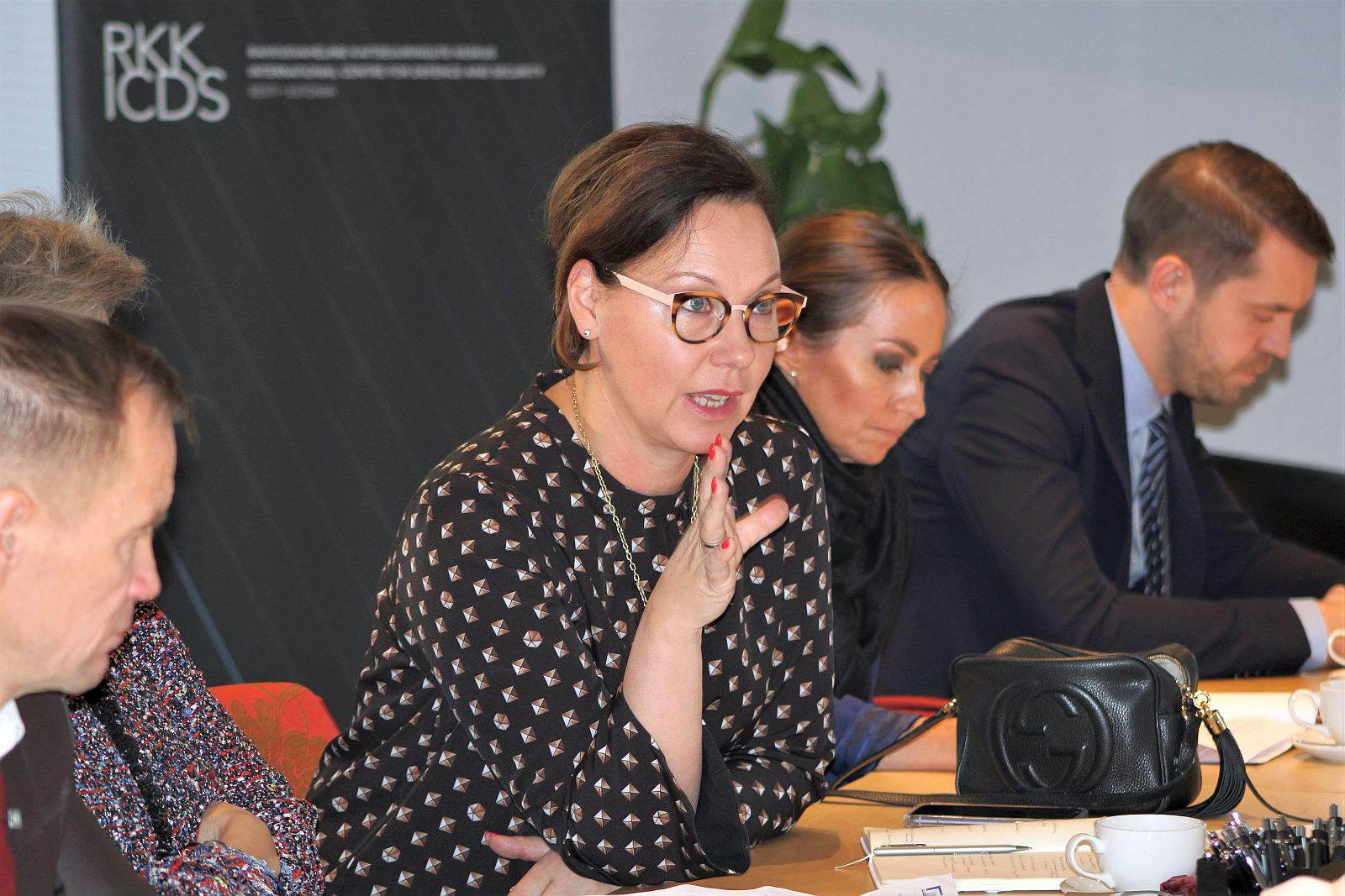 Image for Members of the Foreign Affairs Committee of Eduskunta visited ICDS