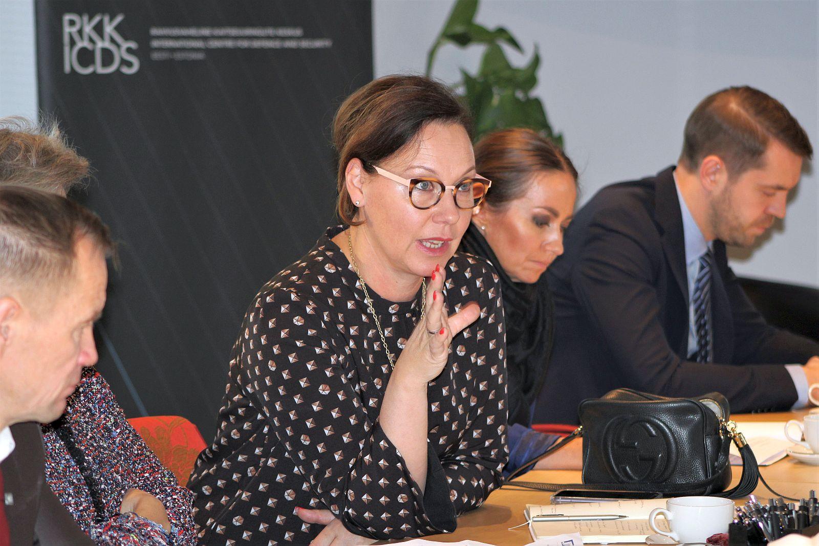 Image for Soome parlamendi väliskomisjoni liikmed külastasid RKK-d