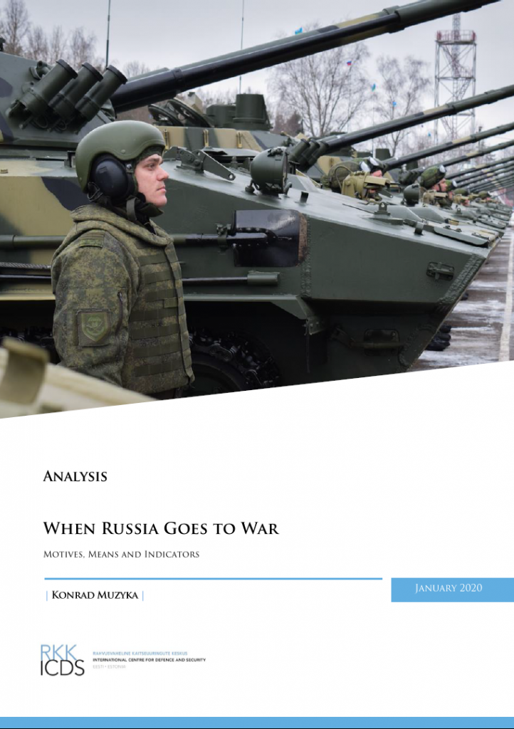 Image for When Russia Goes to War: Motives, Means and Indicators