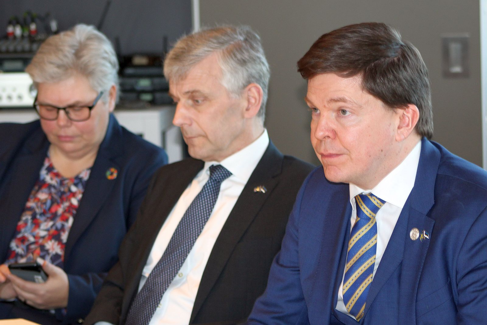 Image for Speaker of the Riksdag Andreas Norlén Visited ICDS