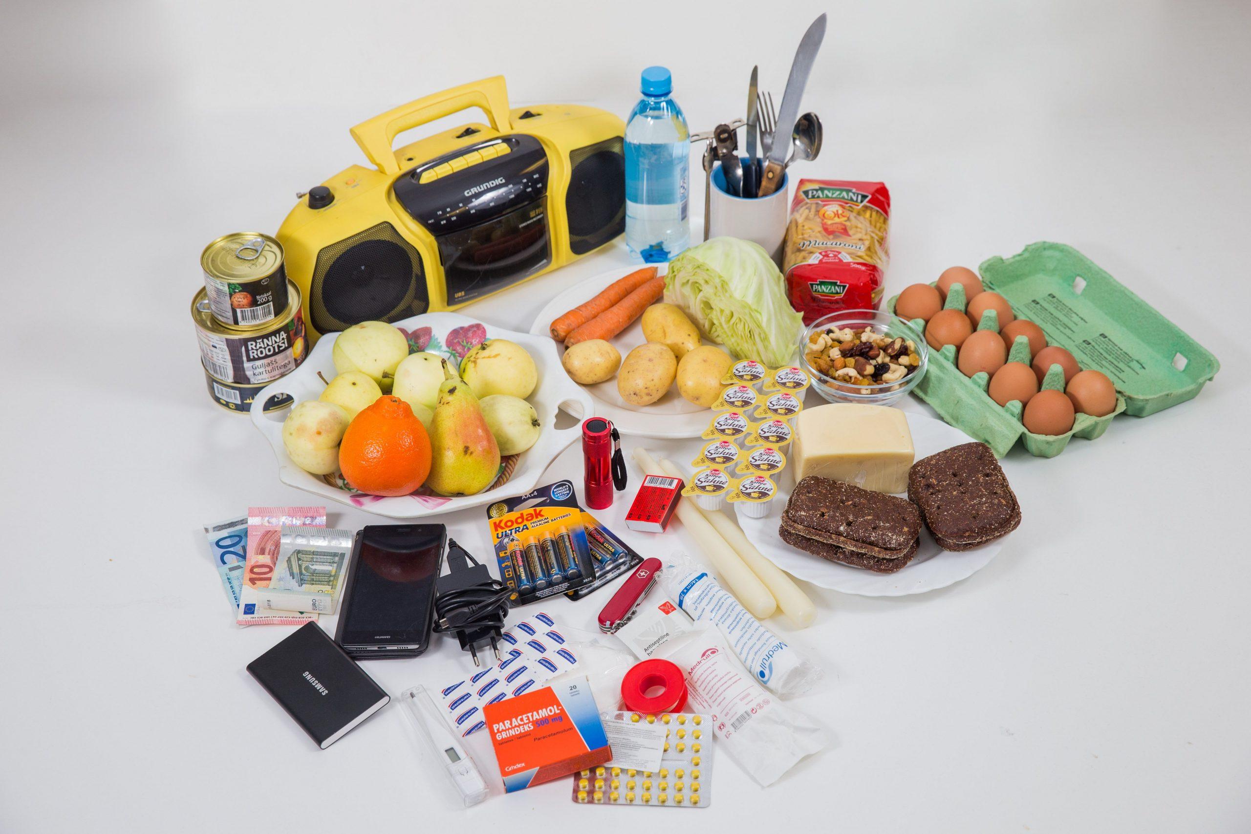 Image for Eesti valmistumine kriisideks: toidu- ja esmatarbekaupade varude soetamine ja jaotamine
