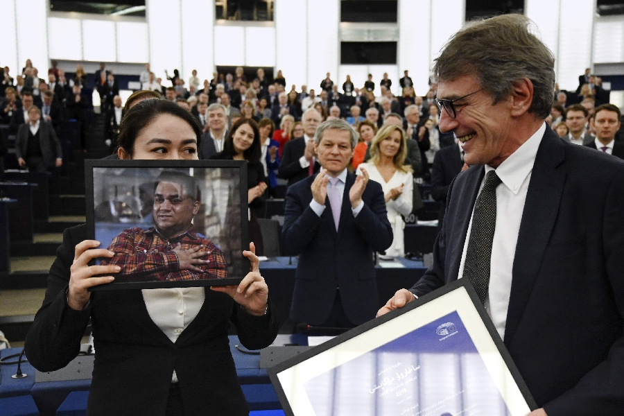 Image for The Ups and Downs of the European Parliament's Sakharov Prize