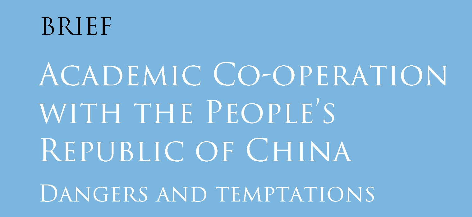 Image for Academic Co-operation with the People's Republic of China: Dangers and Temptations