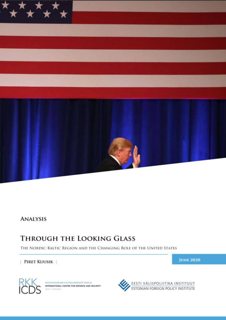 """Image for """"Peeglitagusel maal: Põhja-Balti regioon ja USA muutuv roll maailmas"""""""