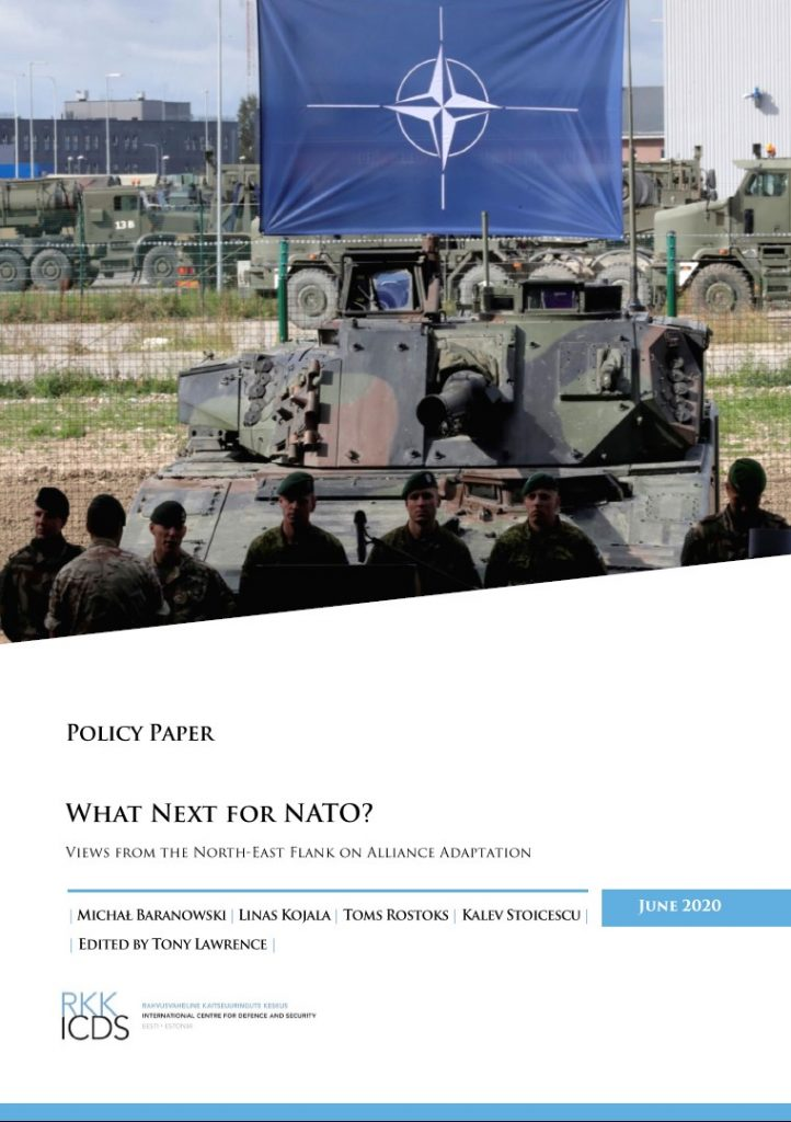 Image for What next for NATO? Views from the North-East Flank on Alliance Adaptation