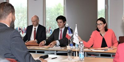Image for French Minister of State for European Affairs visited ICDS