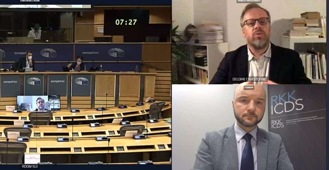 Image for Dmitri Teperik Briefed MEPs on Building National Resilience