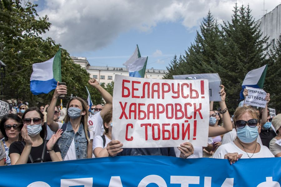 Image for Белорусско-хабаровская параллель?