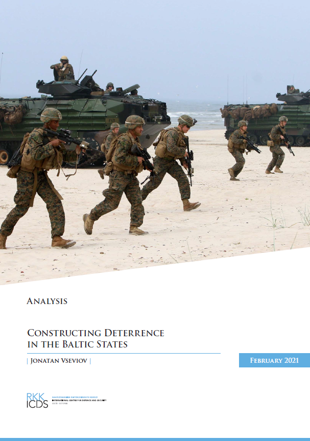 Image for Constructing Deterrence in the Baltic States