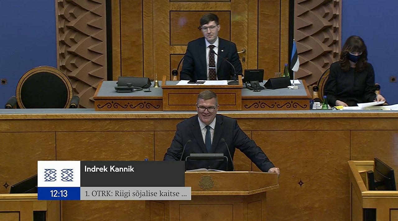 Image for RKK direktor Indrek Kannik Riigikogus: lähikümnenditeks jääb Eestile julgeolekuohuks number üks Venemaa
