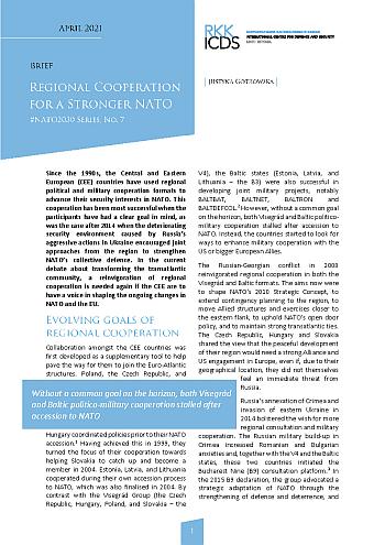 Image for #NATO2030. Regional Cooperation for a Stronger NATO