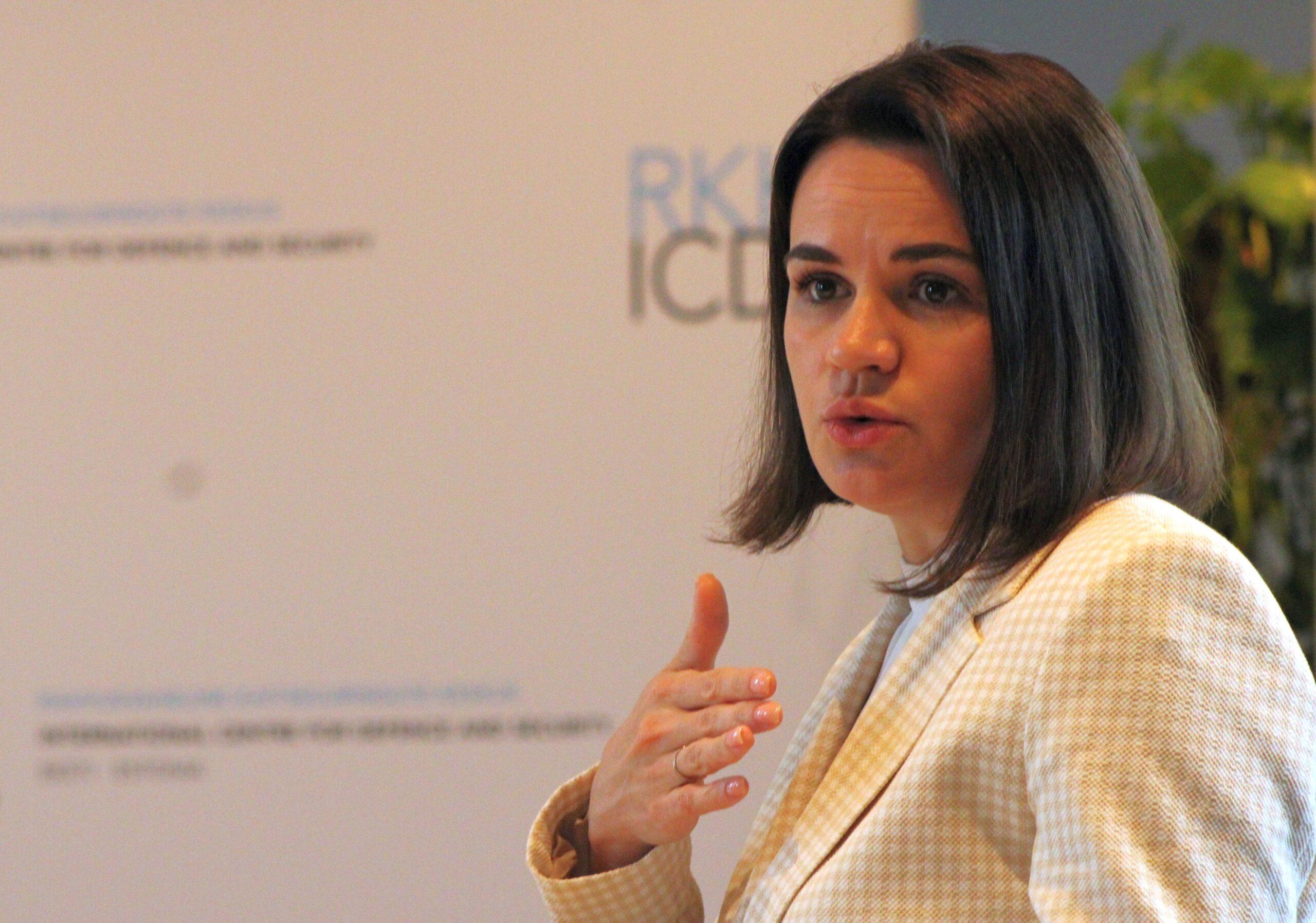 Image for Valgevene opositsiooniliider Svjatlana Tsihhanovskaja külastas RKK-d