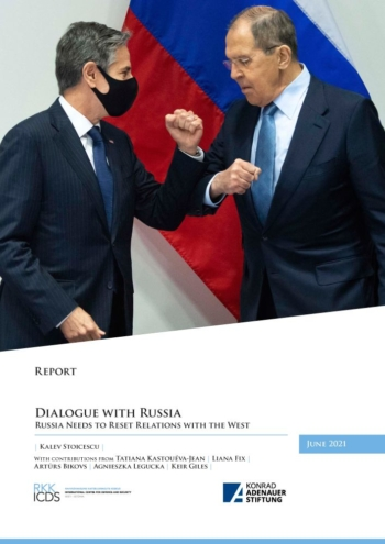 Image for Dialogue with Russia. Russia Needs to Reset Relations with the West.