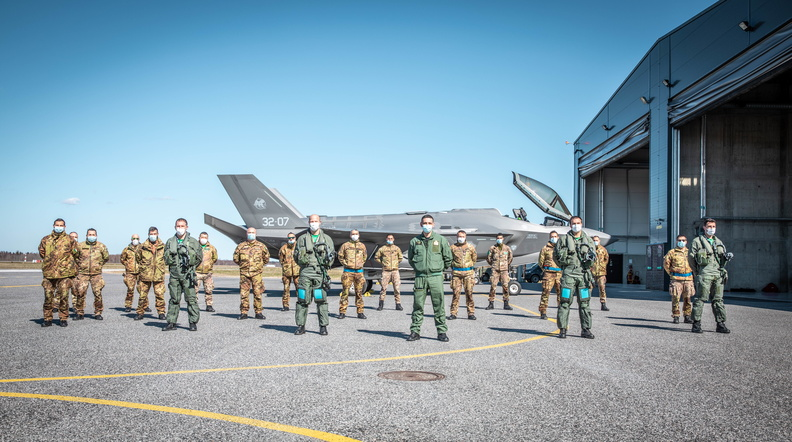 Image for Fifth Generation Air Policing: The F-35 and Baltic Air Policing