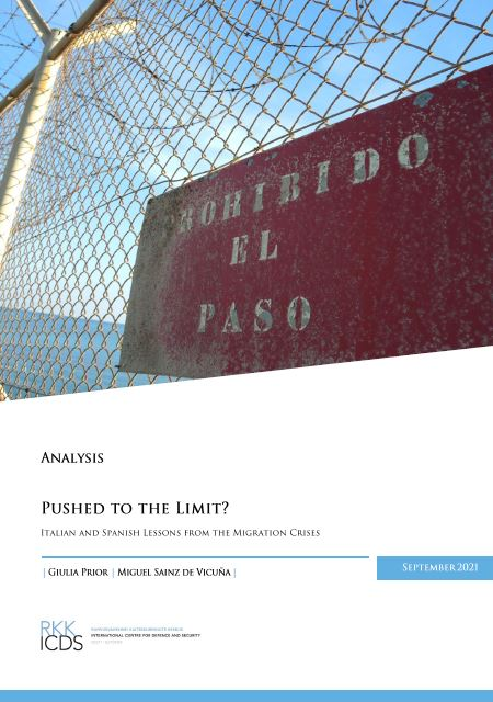 Image for Pushed to the Limit? Italian and Spanish Lessons from the Migration Crises