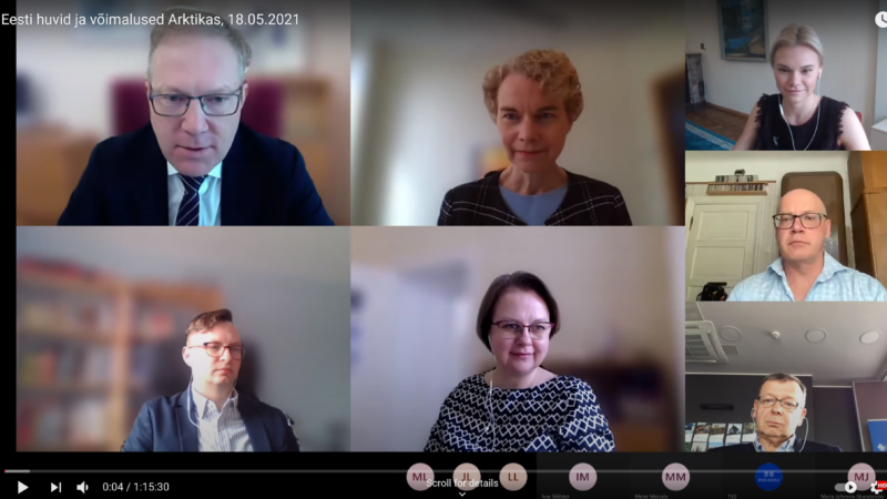 Video with authors of report in parliament